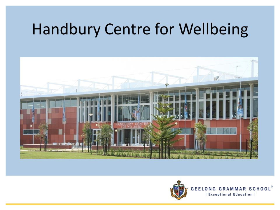 Handbury Centre for Wellbeing