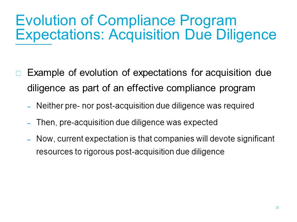 Compliance Programs