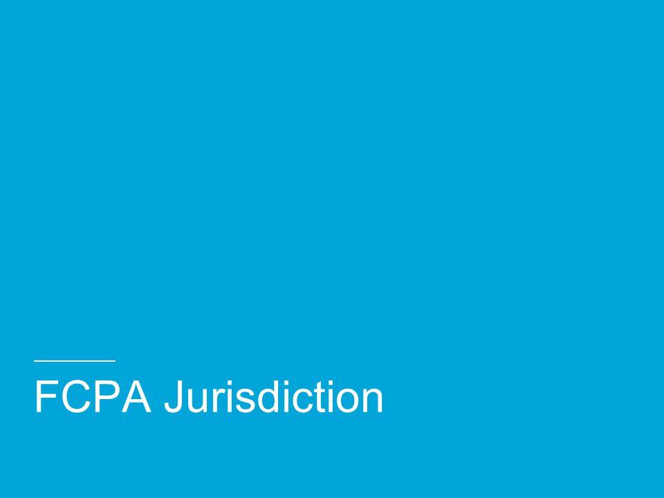 FCPA: Anti-bribery Provisions