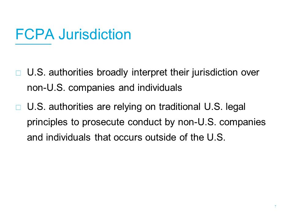 FCPA Anti-Bribery Jurisdiction: Instrumentality of Interstate Commerce