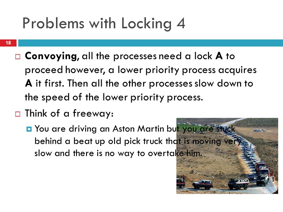 Problems with Locking 4