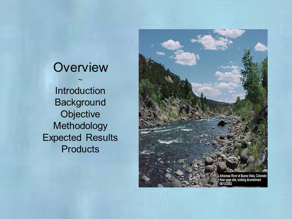 Overview Introduction Background Objective Methodology