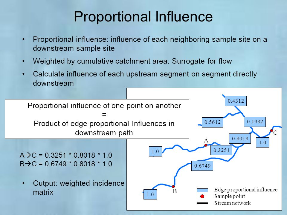 Proportional Influence