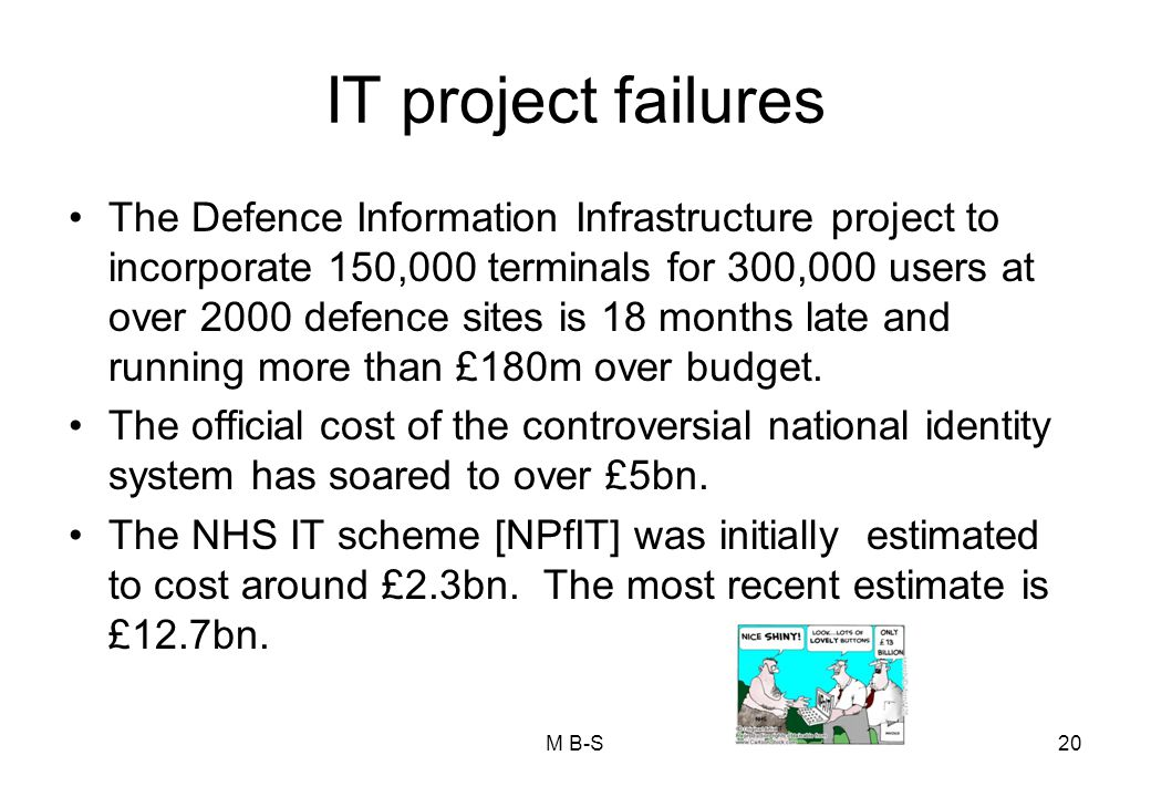 IT project failures
