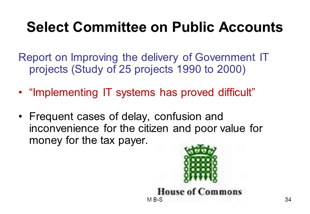Select Committee on Public Accounts