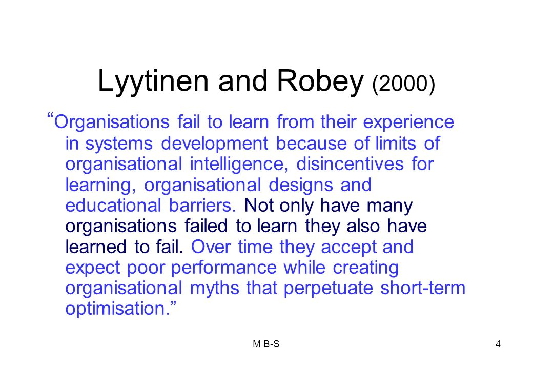 Lyytinen and Robey (2000)