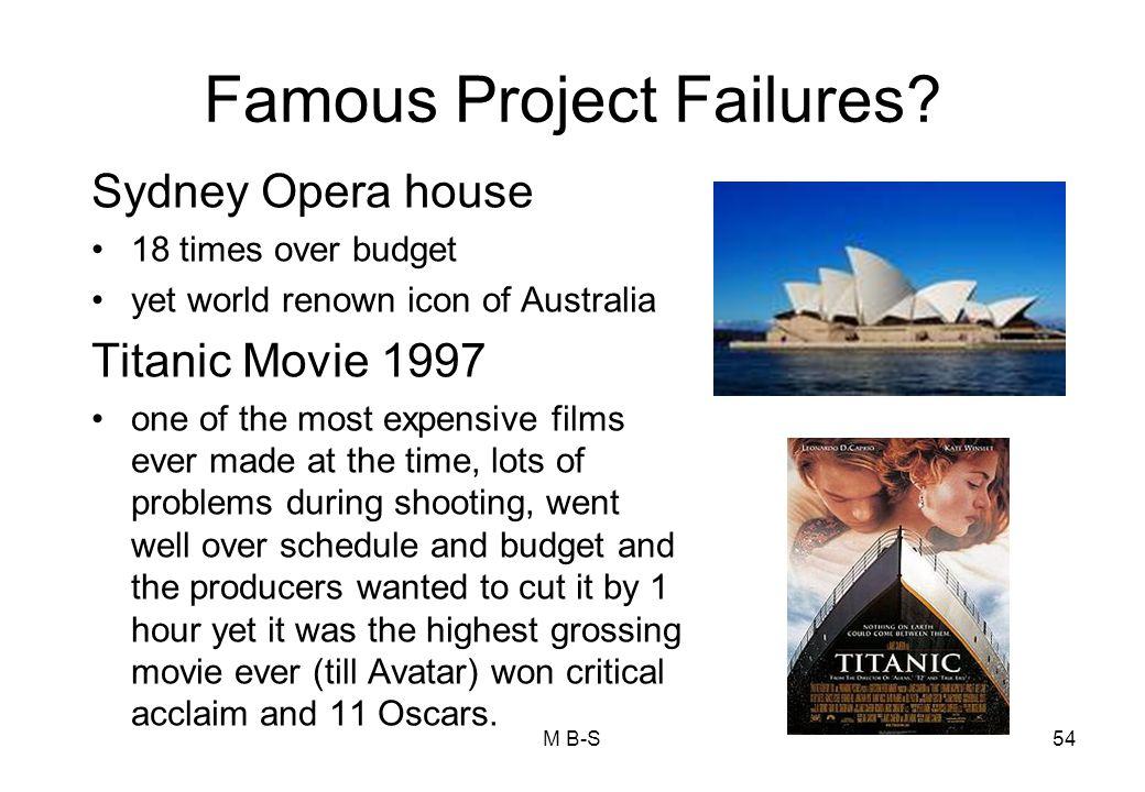 Famous Project Failures