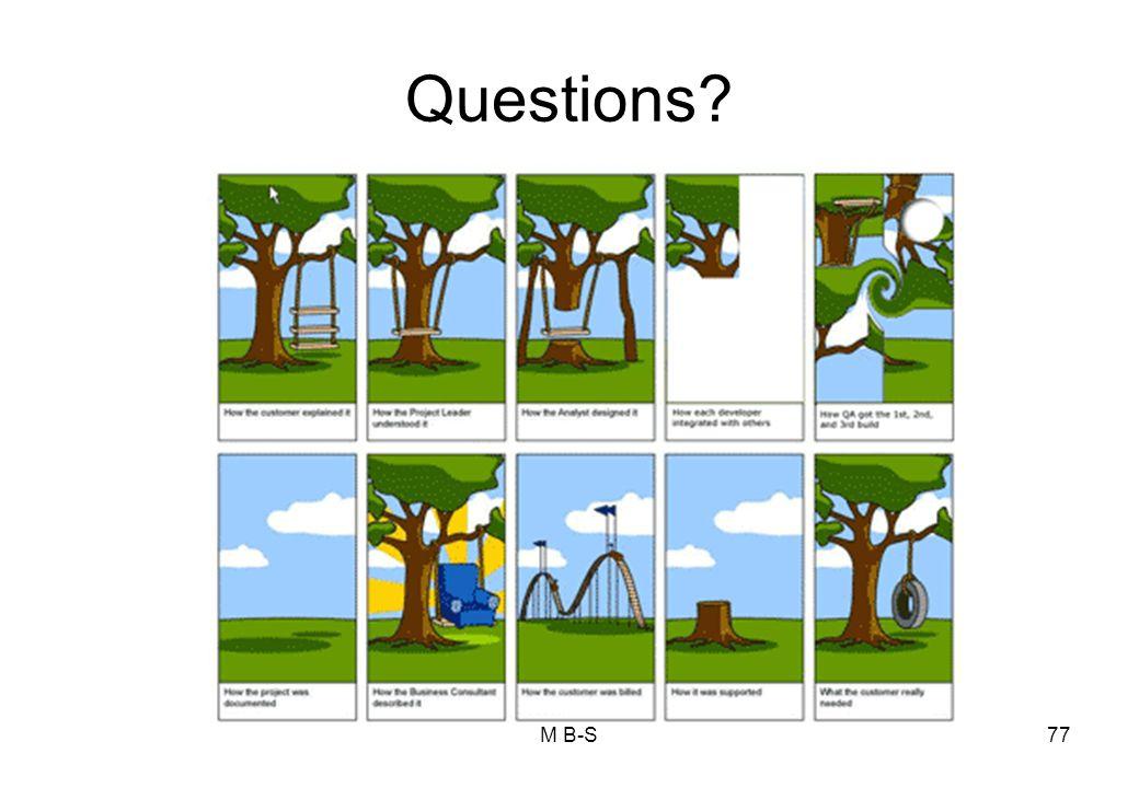 Questions M B-S