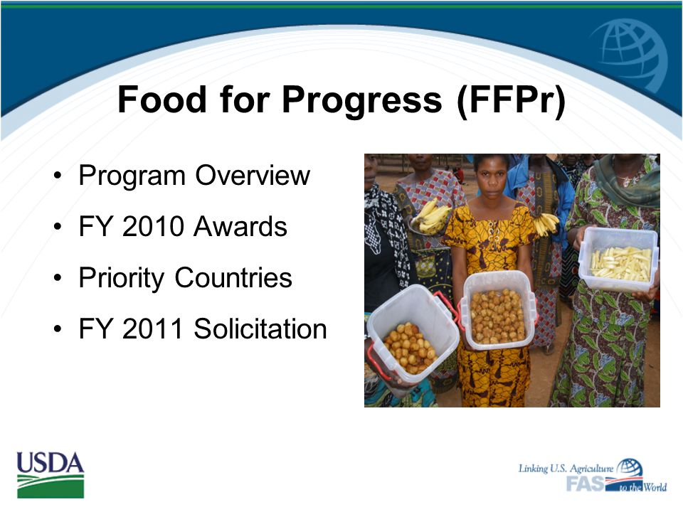 Food for Progress (FFPr)