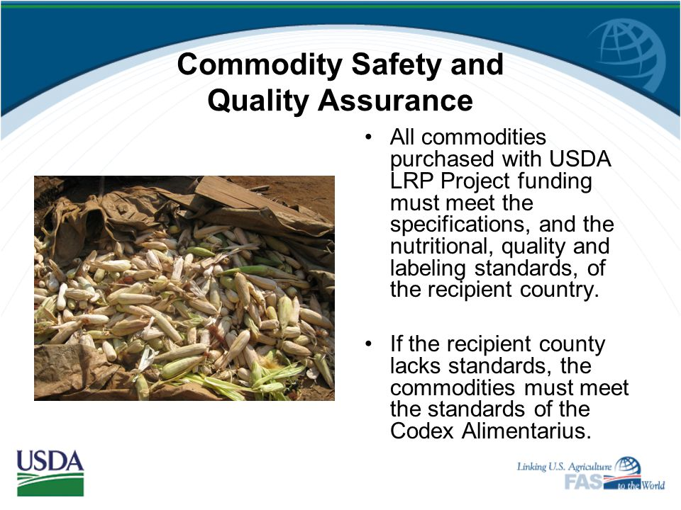 Commodity Safety and Quality Assurance