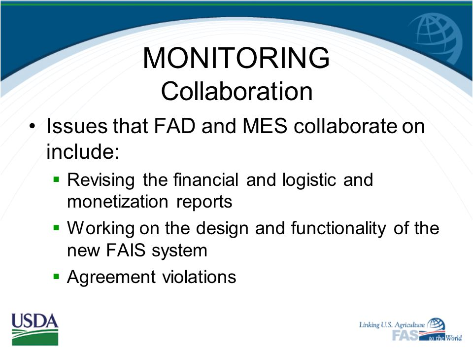 MONITORING Collaboration