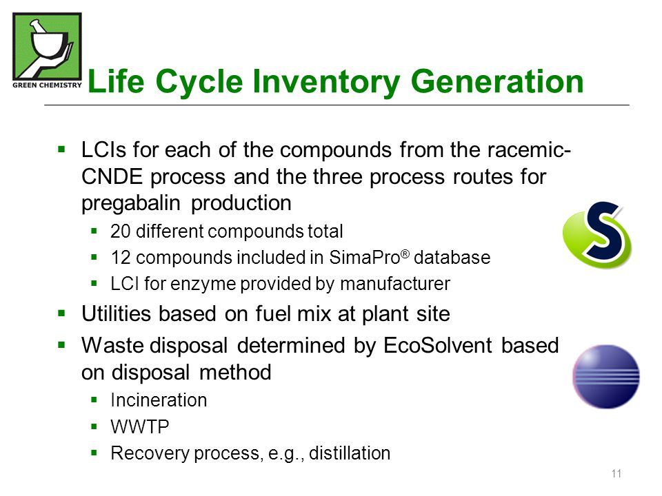 Life Cycle Inventory Generation