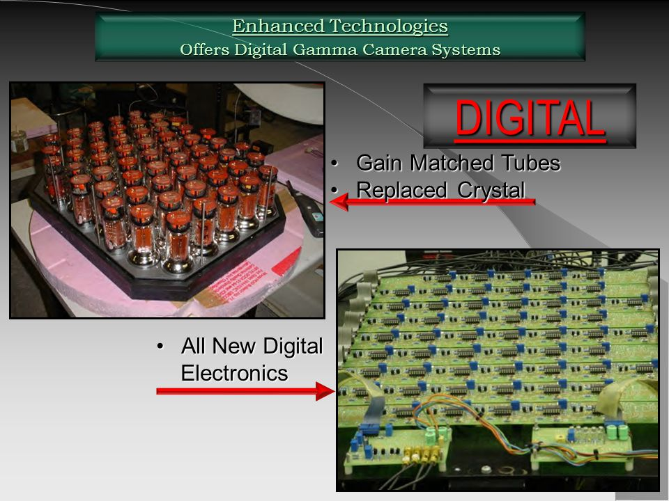 DIGITAL Gain Matched Tubes Replaced Crystal All New Digital