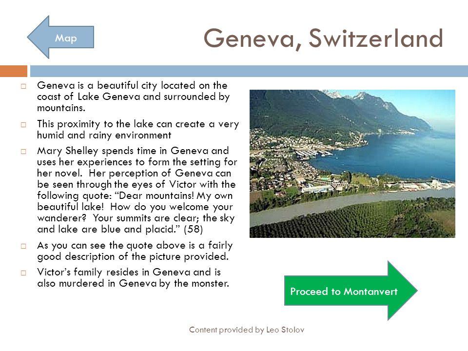 Geneva, Switzerland Map