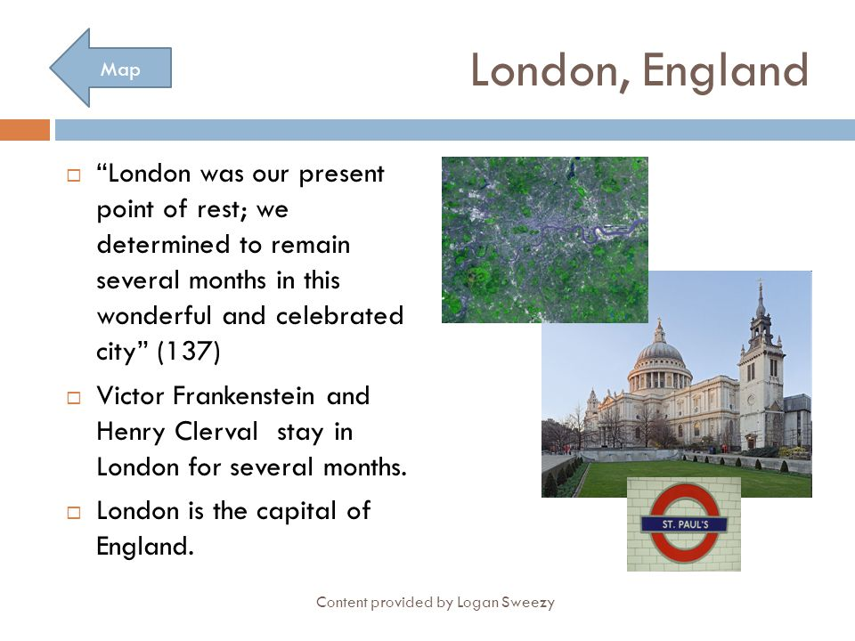 London, England Map. London was our present point of rest; we determined to remain several months in this wonderful and celebrated city (137)