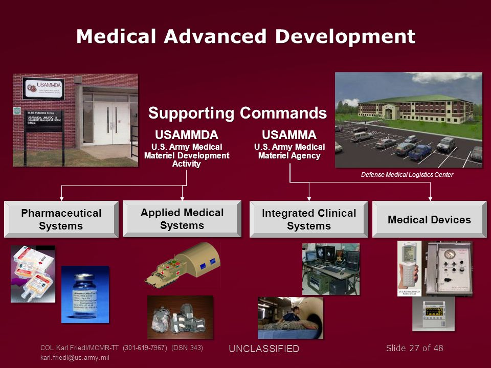Medical Advanced Development