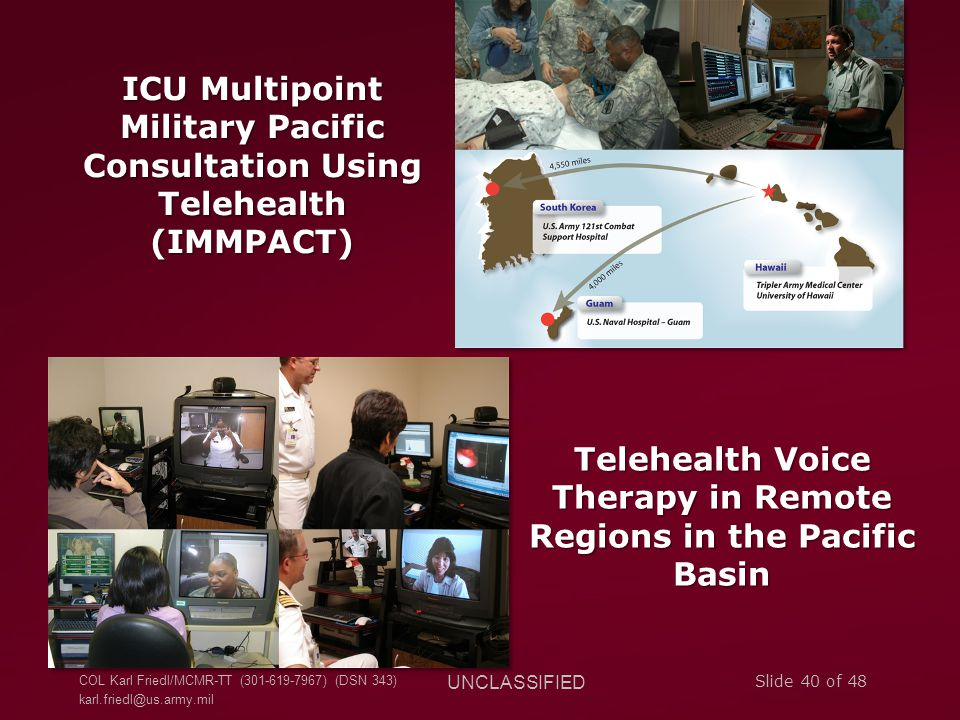 Telehealth Voice Therapy in Remote Regions in the Pacific Basin