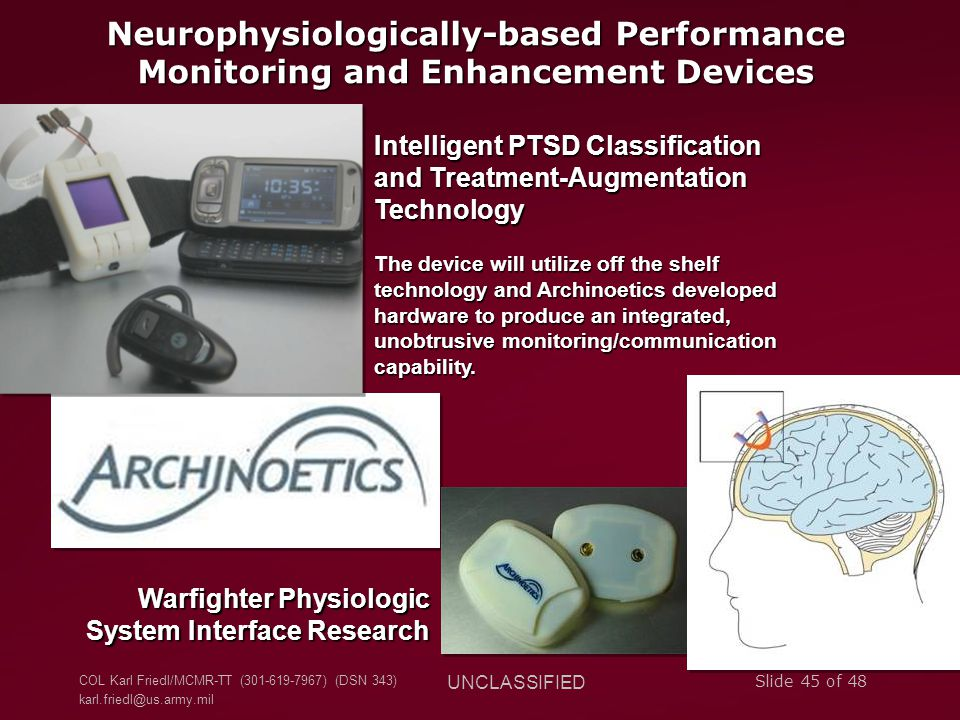 Neurophysiologically-based Performance Monitoring and Enhancement Devices