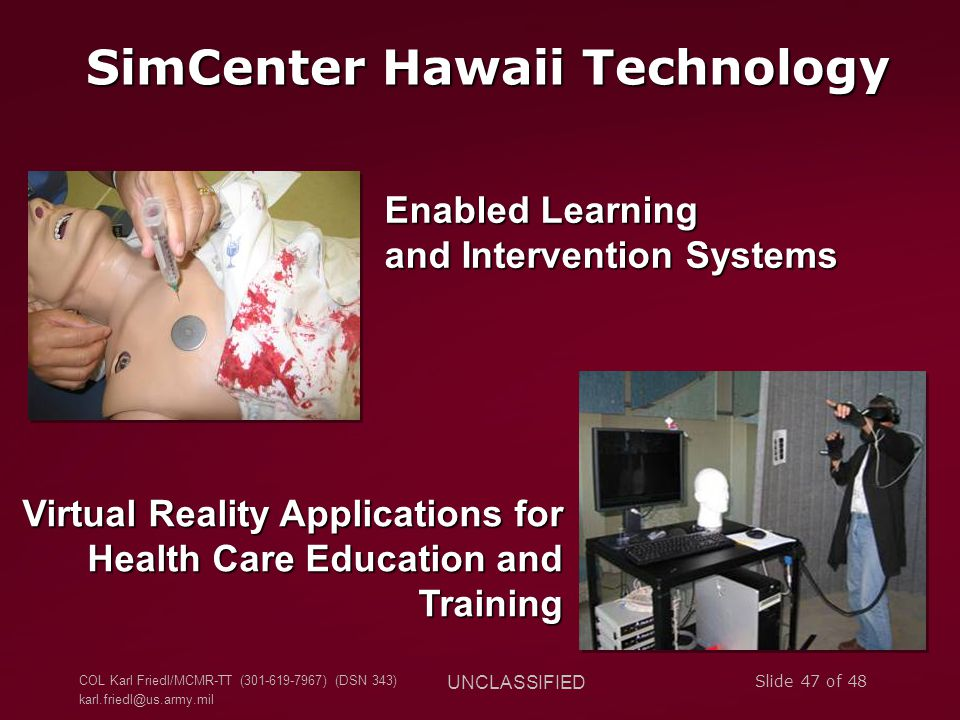 SimCenter Hawaii Technology