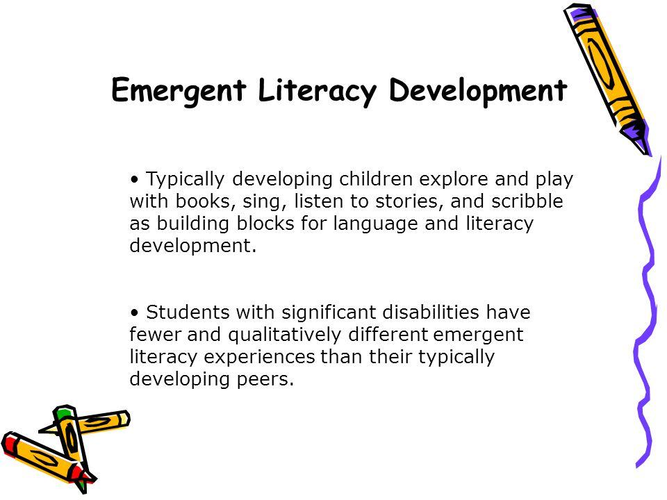 Emergent Literacy Development