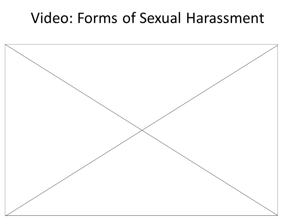 Video: Forms of Sexual Harassment