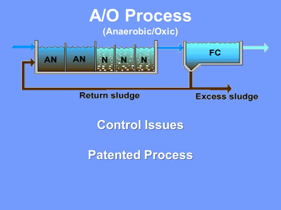 A/O Process (Anaerobic/Oxic) Control Issues Patented Process