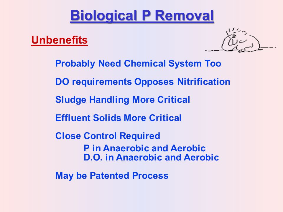 Biological P Removal Unbenefits Probably Need Chemical System Too