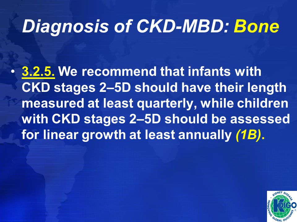 Diagnosis of CKD-MBD: Bone