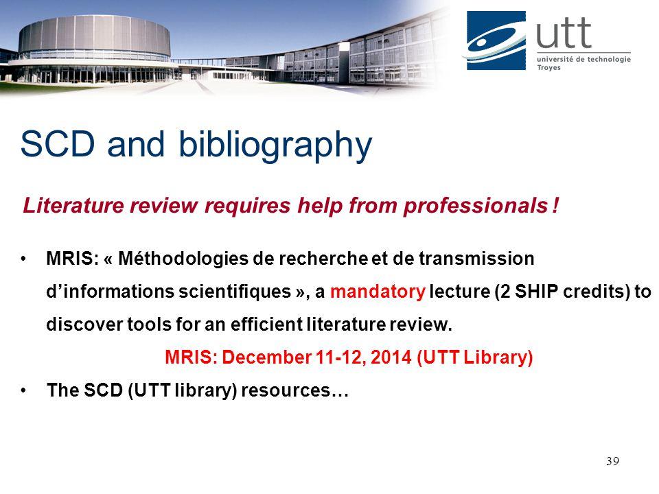 MRIS: December 11-12, 2014 (UTT Library)