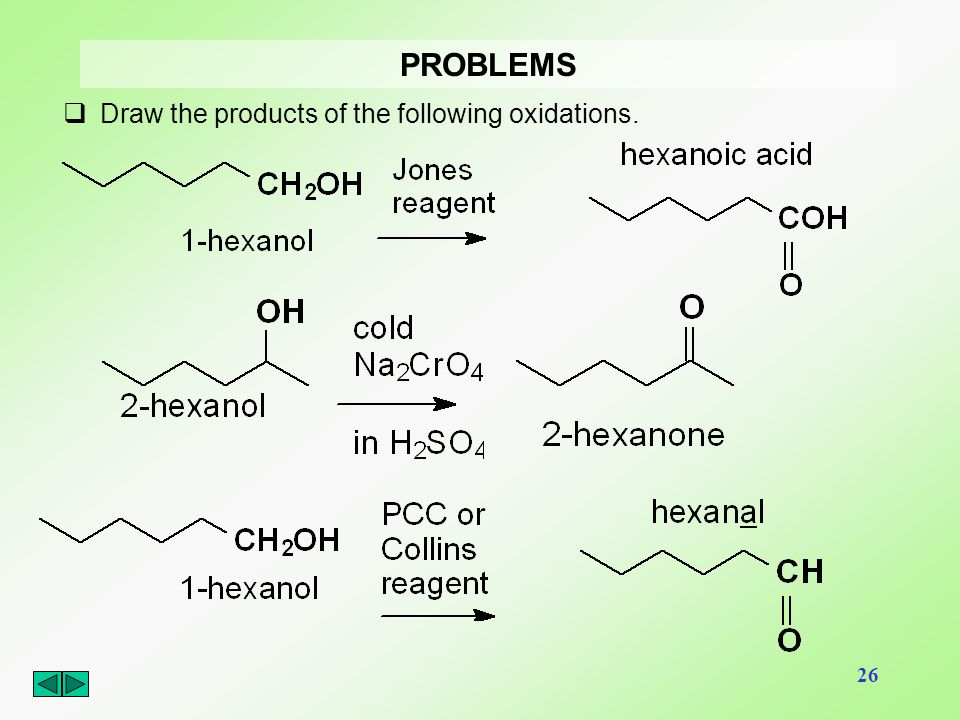 PROBLEMS Draw the products of the following oxidations.