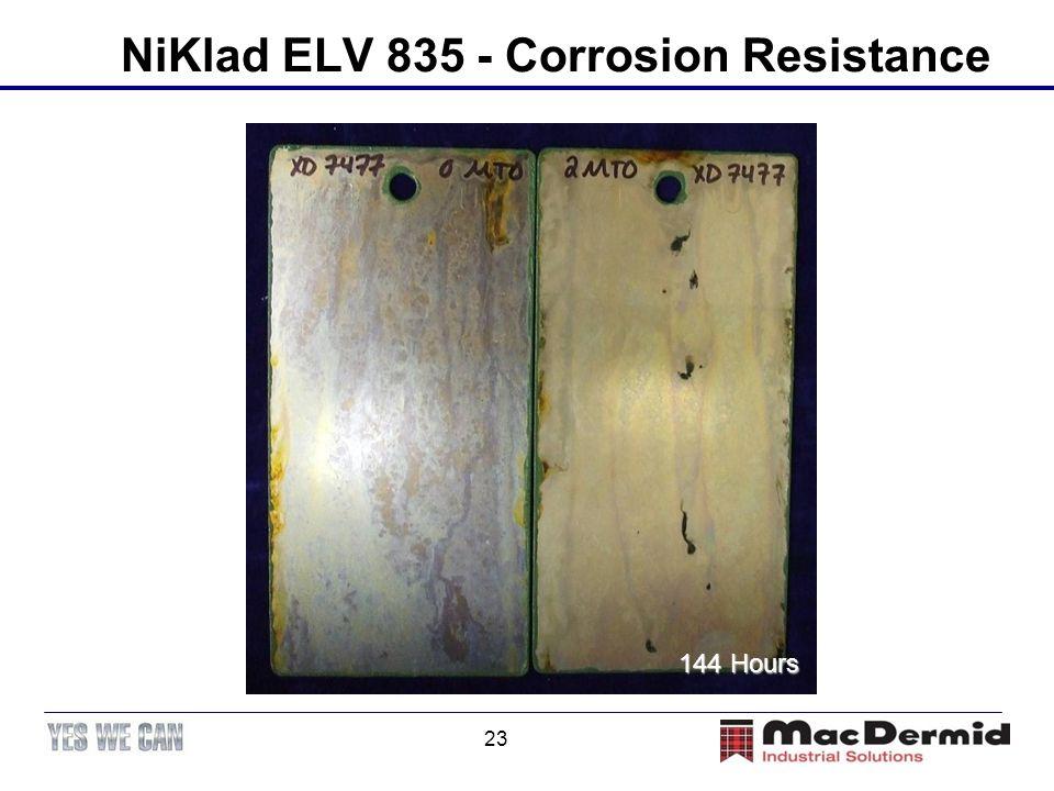 NiKlad ELV 835 - Corrosion Resistance