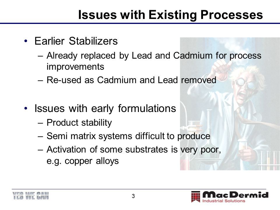 Issues with Existing Processes