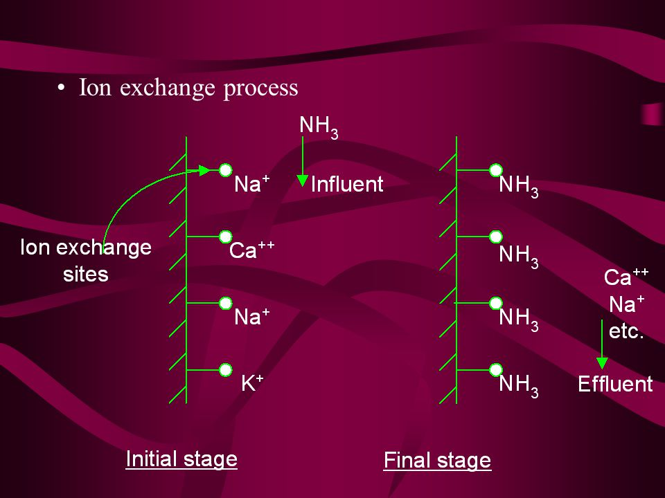 Ion exchange process
