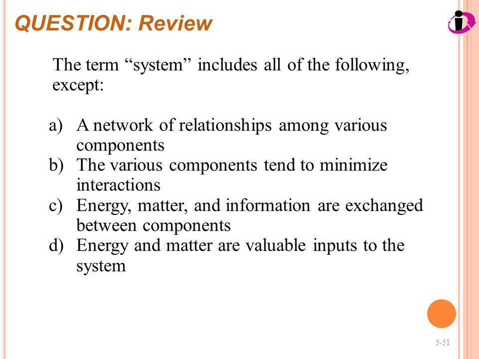 chapter 5 review questions