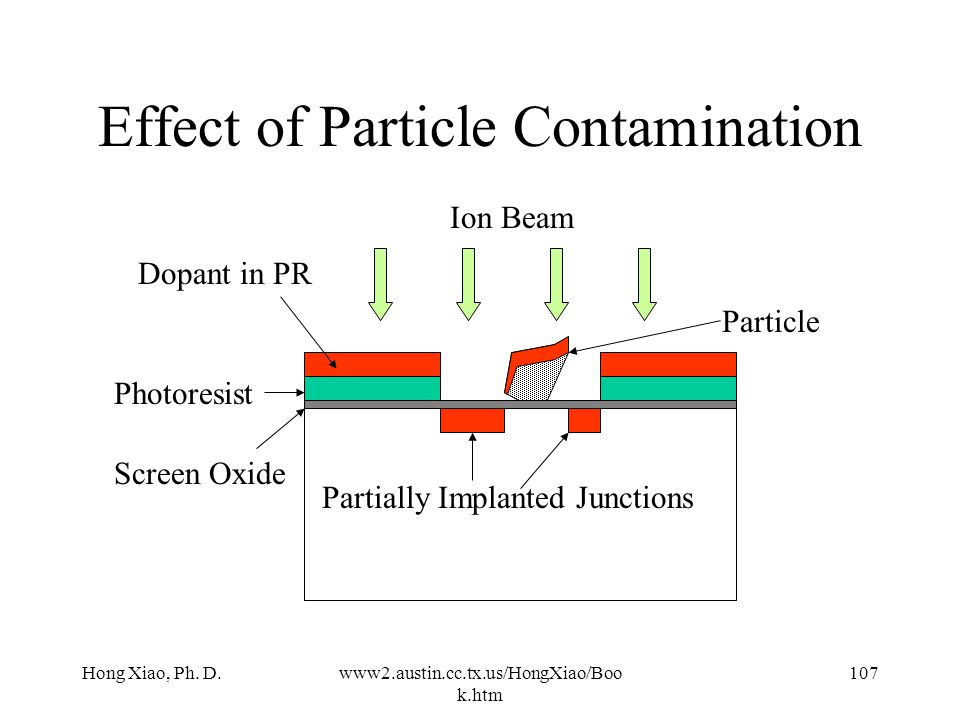 Effect of Particle Contamination