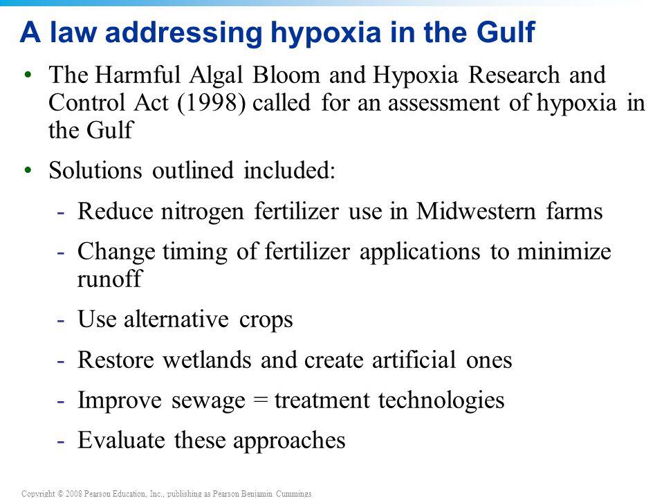 A law addressing hypoxia in the Gulf