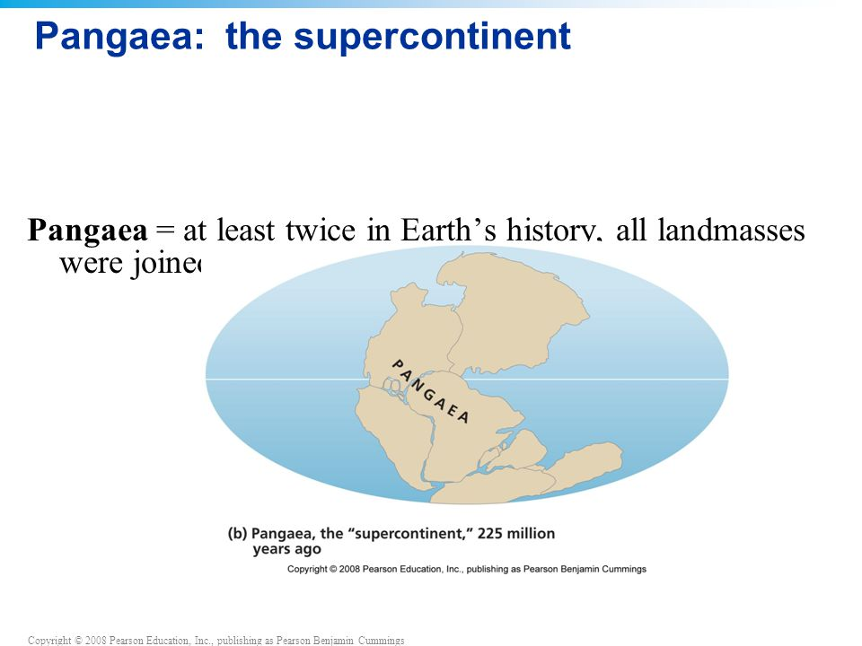 Pangaea: the supercontinent