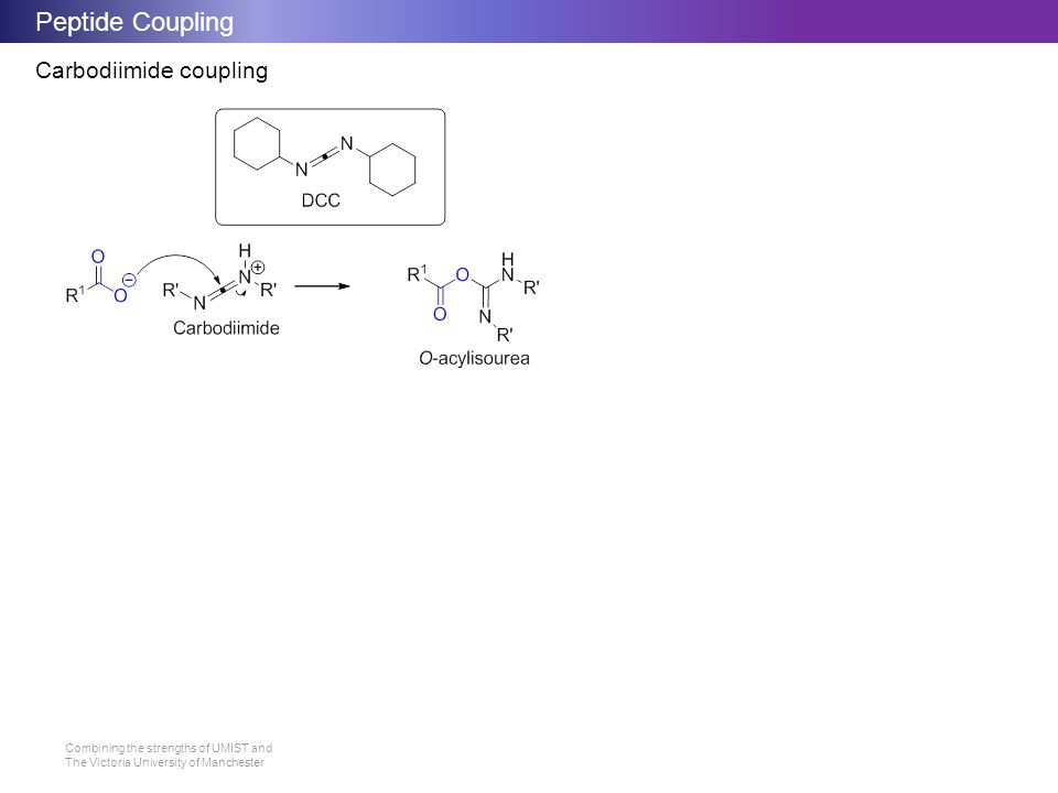 Peptide Coupling Carbodiimide coupling