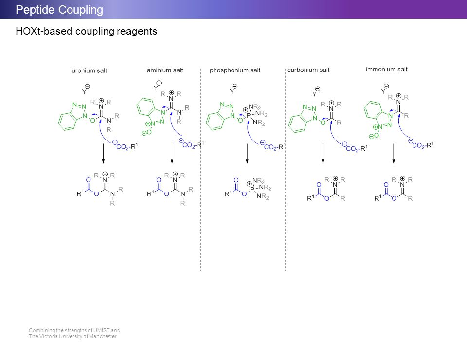 Peptide Coupling HOXt-based coupling reagents