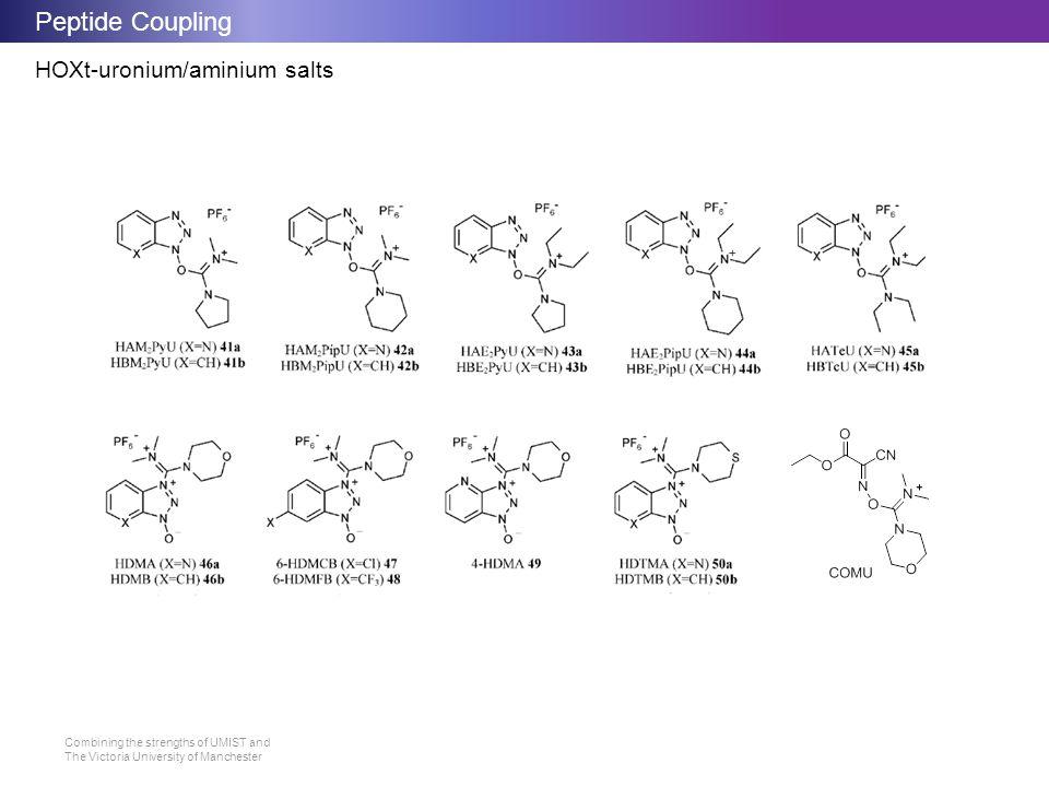 Peptide Coupling HOXt-uronium/aminium salts