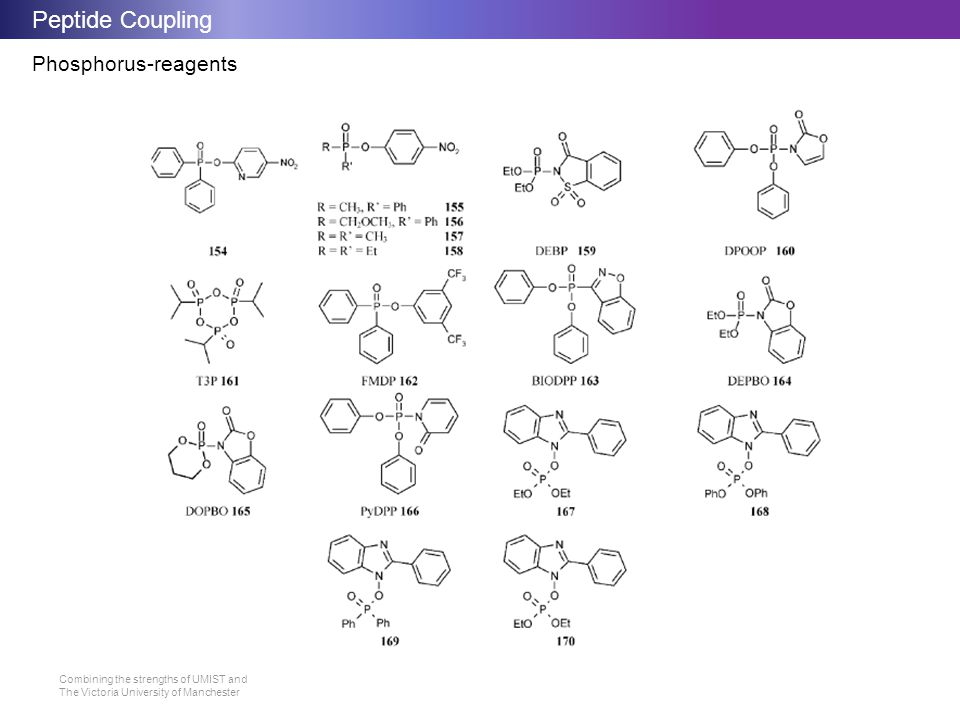 Peptide Coupling Phosphorus-reagents