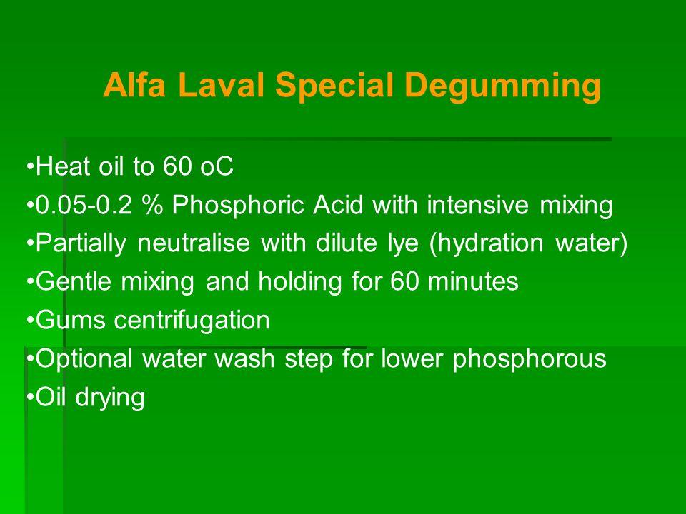 Alfa Laval Special Degumming