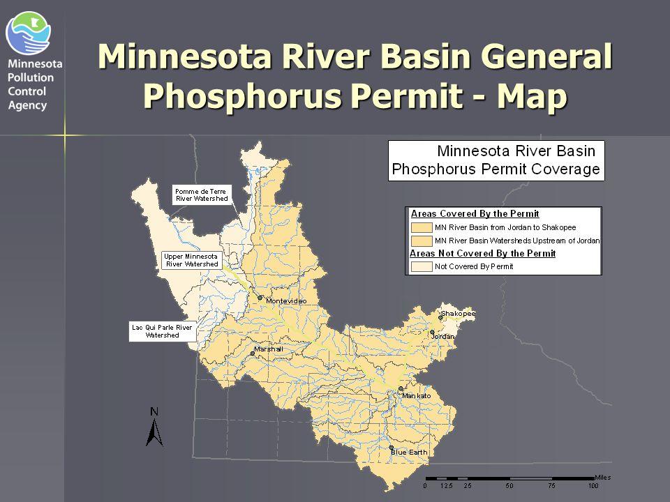 Minnesota River Basin General Phosphorus Permit - Map