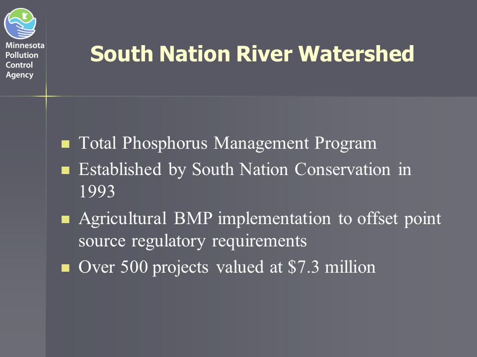 South Nation River Watershed