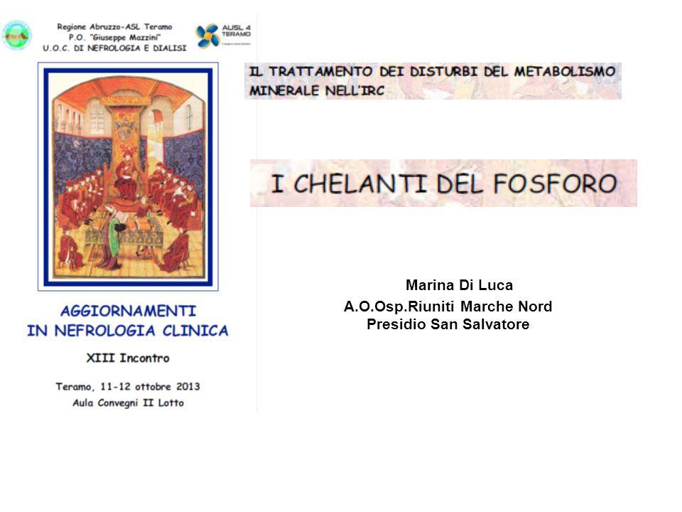 A.O.Osp.Riuniti Marche Nord Presidio San Salvatore