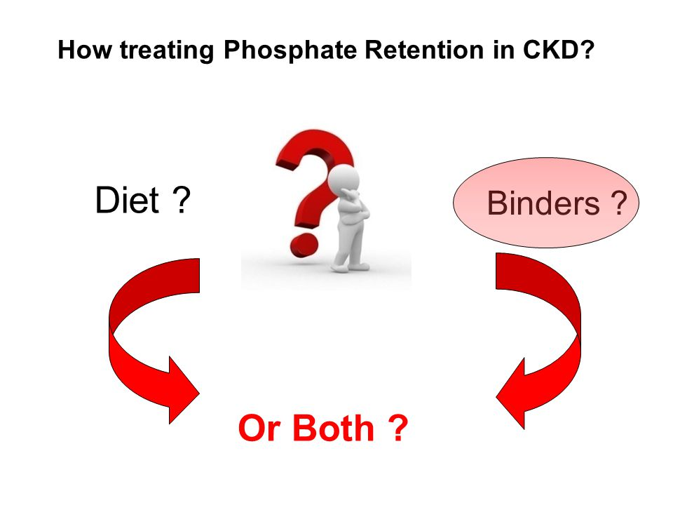 How treating Phosphate Retention in CKD
