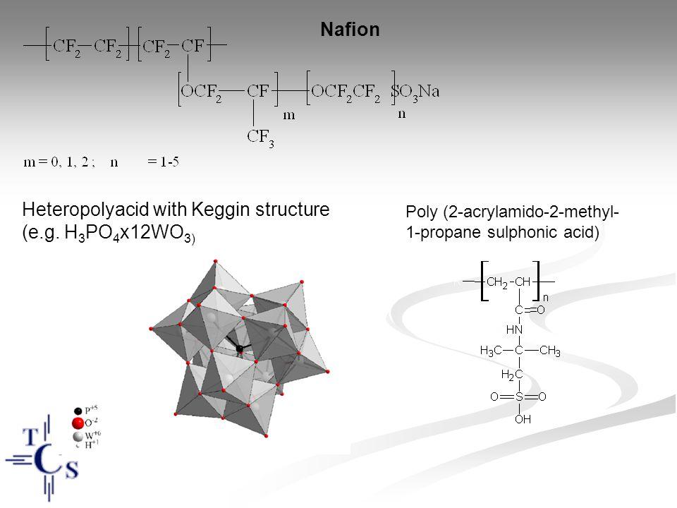 Heteropolyacid with Keggin structure (e.g. H3PO4x12WO3)