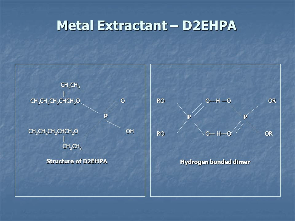 Metal Extractant – D2EHPA