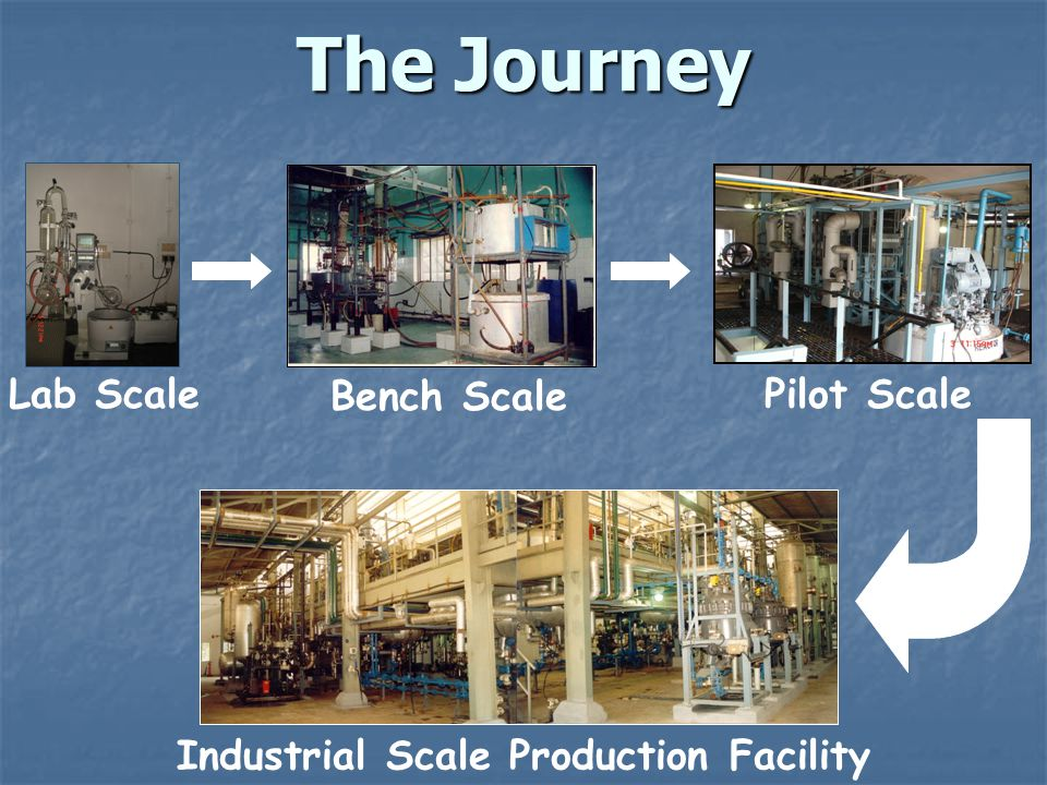 Industrial Scale Production Facility