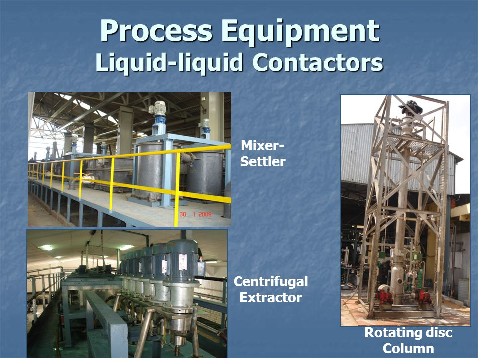 Process Equipment Liquid-liquid Contactors